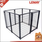 Classical but fashion heavy duty black dog kennel crate