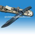 Cuchillo machete con cuchilla fija y funda, nuevo diseño de alta calidad
