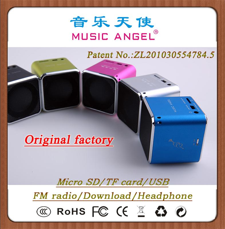 MUSIC ANGEL JH-MD07U MP3 speaker amplified portable speaker china computer accessories