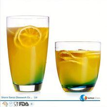 Sanzo Custom Glassware Manufacturer italian glass water bottles