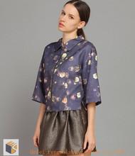 HFRW1492 2014 Australian fashion autumn hot sale woman's fur coat (high quality)
