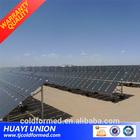 galvanize stand for solar panel/steel 41*41