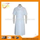100% cotton working uniform White ladies nurse uniforms