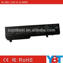 11.1v 4400mAh li-ion laptop battery for DELL 1310 1320 1510 1520 2510 PP36L PP36S