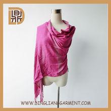 2014 India woven pashmina rayon scarf viscose shawl