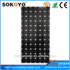High Efficiency price per watt solar panels for india