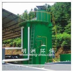 QFS high efficiency dissolved air floatation tank gas-float wastewater equipment Vertical current flotation reactor