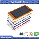 LED light mac solar charger and sunny power solar charger mobile 30000mah solar panel for iphone samsung nokia