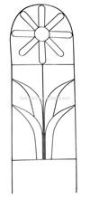 beautiful metal garden obelisk trellis for plant or flower growth