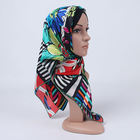 2014 winter 100% silk bright candy flower sexy muslim hijab underscarf