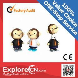 Cute animal shape PVC USB Flash drive OEM for promotion