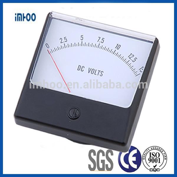 Volt Meters Panel Mount : High voltage meters analog dc panaview panel mount