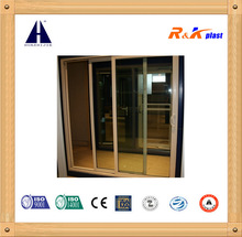 Economical aluminum sliding door good quality with handle lock