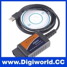 New Brand ELM327 V1.5 OBDII OBD2 CAN-BUS USB Auto Diagnostic Interface Scanner