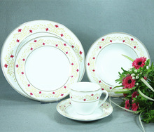 ceramic dinner set,beautiful modern arts,porcelain dinner set