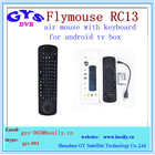 4-IN-1 Smart Wireless 2.4GHz voice Air Mouse with Keyboard RC13 voice flymouse keyboard RC13 for android tv box