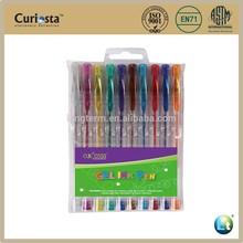 Metalic gliter Gel ink pen