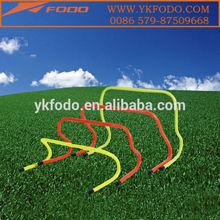Hot style Plastic Mini soccerl agility training hurdle step hurdles(FD695)