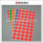 Diameter 0.8 CM Color Dot Stickers