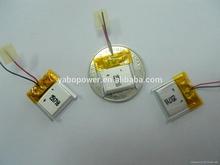 Small 3.7v 251718 80mAh lithium polymer battery
