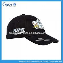 Black Short Brim Folding Legend Baseball Caps