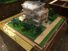 new product 3D acrylic architectural model for villa design service