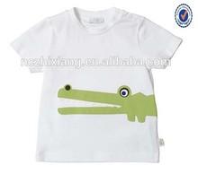 Kid cotton t shirt,children clothing factory ,2014 baby pure cotton tee shirt