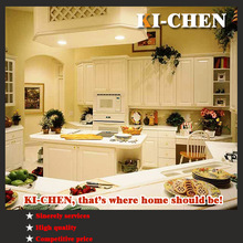 High-grade kitchen cabinet and MDF kitchen cabinet with outside PVC