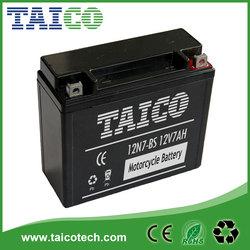 12v 7ah motorcycle battery storage battery