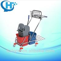 down press high quality metal mop bucket wringer