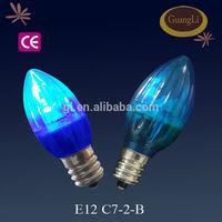 rugby series 110-240v 0.5w led bulbs wholesale led candle light bulb led light bulb parts