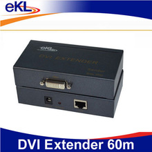 29pin RJ-45 DVI extender 60m support DVI-I CAT-5e/6 cable