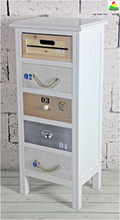 2014 HOT SALE CHEAP WOODEN CHEST WITH 5 DRAWERS