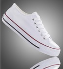 no lace custom hand painted blank white canvas shoes