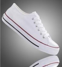 no encaje personalizado pintado a mano en blanco blanco zapatos de lona