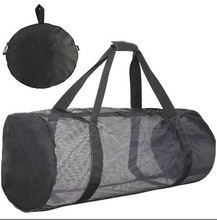 foldable nylon diving mesh bag,swimming mesh bag
