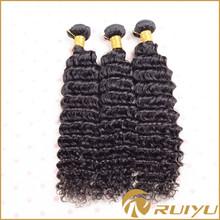"3 bundles/set 18"" 18"" 18"" deep wave human hair for braiding"