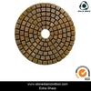 Metal bond flexible diamond polishing pad / diamond tools for polishing granite
