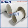 Pvc conducto flexible de tubería de pvc tubería cinta de embalaje de venta al por mayor de tubo de pvc