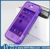 Combo PC TPU Cover Case For iPhone 5S, For iPhone 5S Waterproof TPU Flip Case