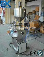 China ChaoXian semi-automatic vertical single cream hot filling machine