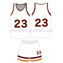 OEM custom camouflage basketball uniform