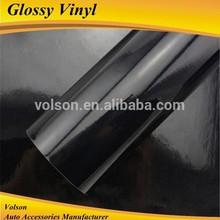 Black Glossy Vinyl For Car Paint Protective top sale vinyl wrap, carbon fibre sticker