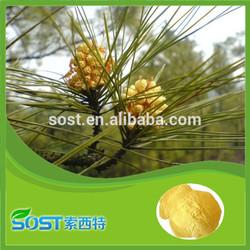 factory supply pure natural bulk pine pollen powder