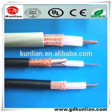 75ohm cabo Coaxial RG6 305 M / carretel de madeira / à prova d ' água cabo Coaxial