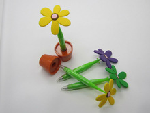 flower Potted Pen - Sunflower