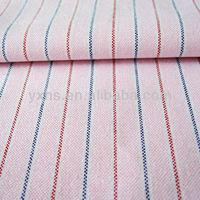 2014 new fashion stripe 100%cotton yarn dyed oxford fabric for shirts garmnets