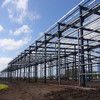 easy assemble prefab steel structure warehouse with sandwich panel