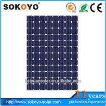 A-grade cell 24v solar panel250 watt