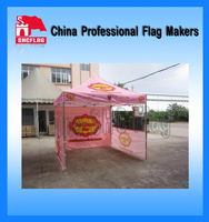 Various styles high quality pink folding kitchen tents for camping